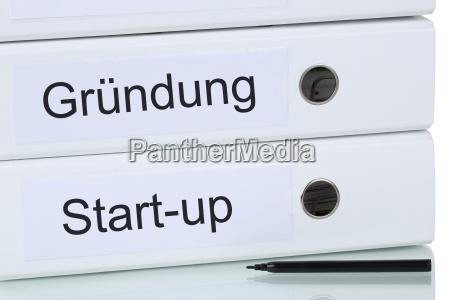 opsaetning af en virksomhed eller start