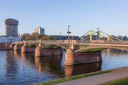the ignatz bubis bruecke bridge in