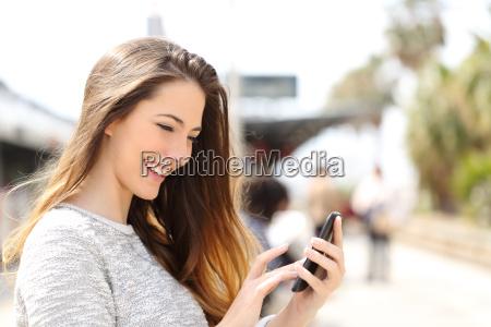 pige tekster mobil pa en smart
