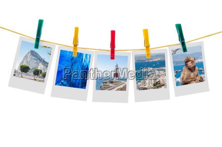 fem billeder af gibraltar pa torresnor