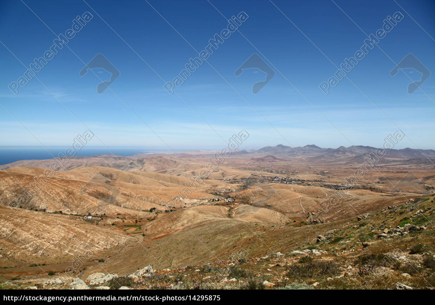 høj, bakke, høje, bakker, bjerge, kanariske øer - 14295875