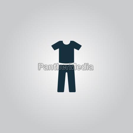 uniform bukser og t shirt