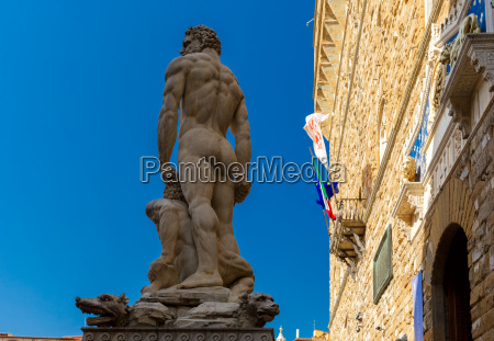 hercules and cacus in florence italy