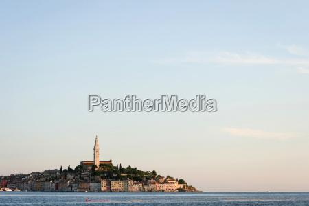 byen rovinj pa adriaterhavs kysten