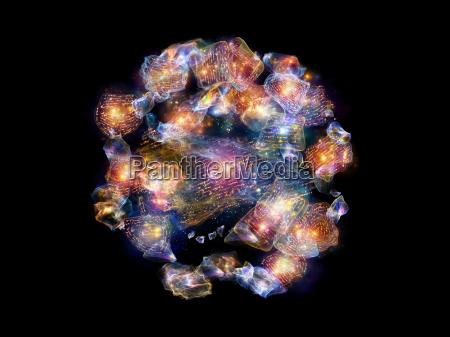 farverige digt fragmenter