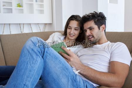 par pa moderne hjem ved hjaelp