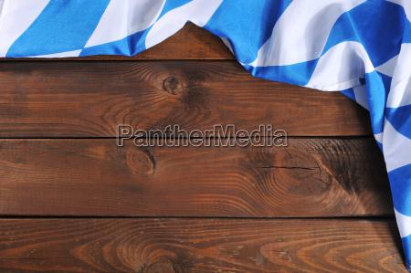 bayersk flag pa traeplader