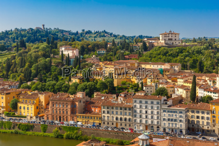 oltrarno and fort belvedere in florence