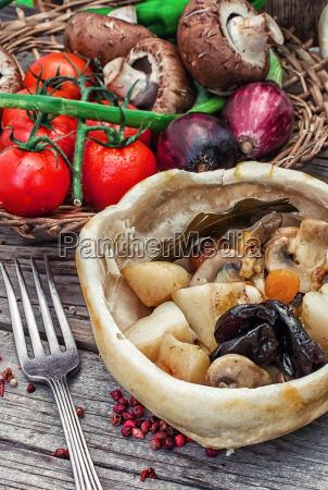 vegetabilske ragu