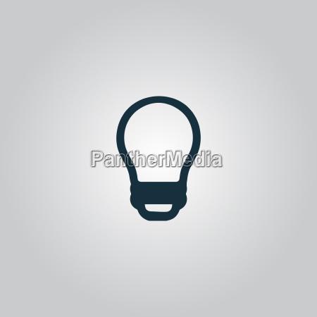 led lampe vektor paere isoleret