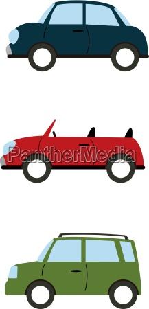 bil automobil personbil koretoj middel til
