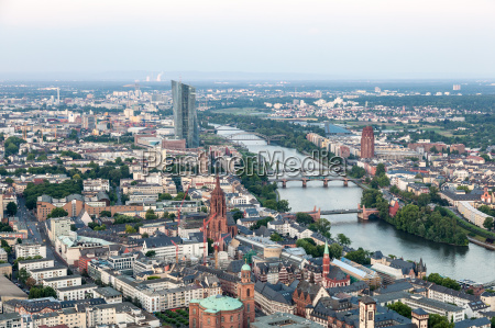 city of frankfurt main germany