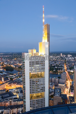 the commerzbank tower in frankfurt main