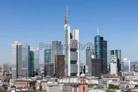 frankfurt main downtown germany