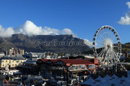 fritid havn sydafrika havne hjul pariserhjul