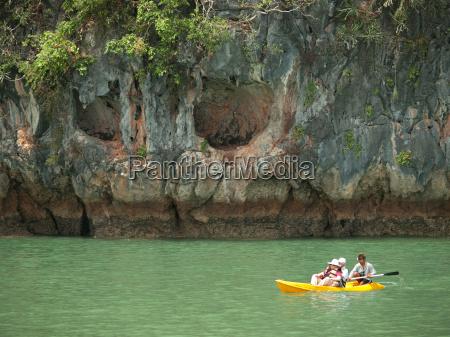 kajakroning, i, pang, nga, bay, thailand, kajakroning, i - 14685903