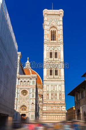 campanile di giotto in florence italy