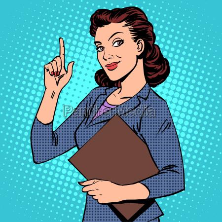 succesfuld kvindelig forretningskvinde