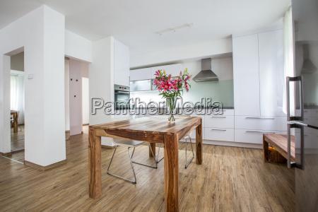 moderne interior kokken stil af byggeri