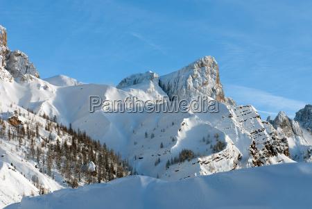 alpine scene dolomitterne norditalien