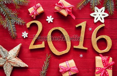 2016 nytar og jul design