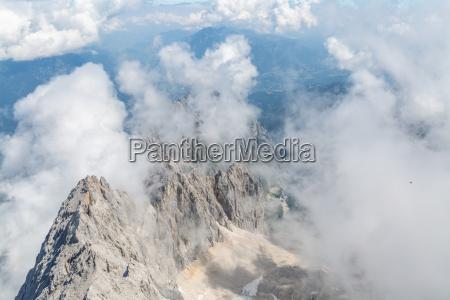 zugspitze bjergtop i tyskland