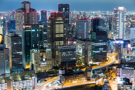 osaka nat udsigt i japan