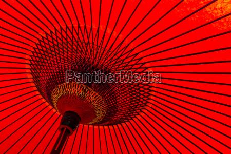 japansk traditionel rod paraply
