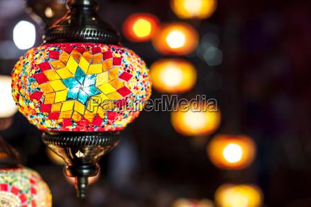 mosaik haengende lamper