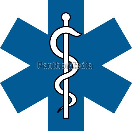 tegn symbol medicin laege