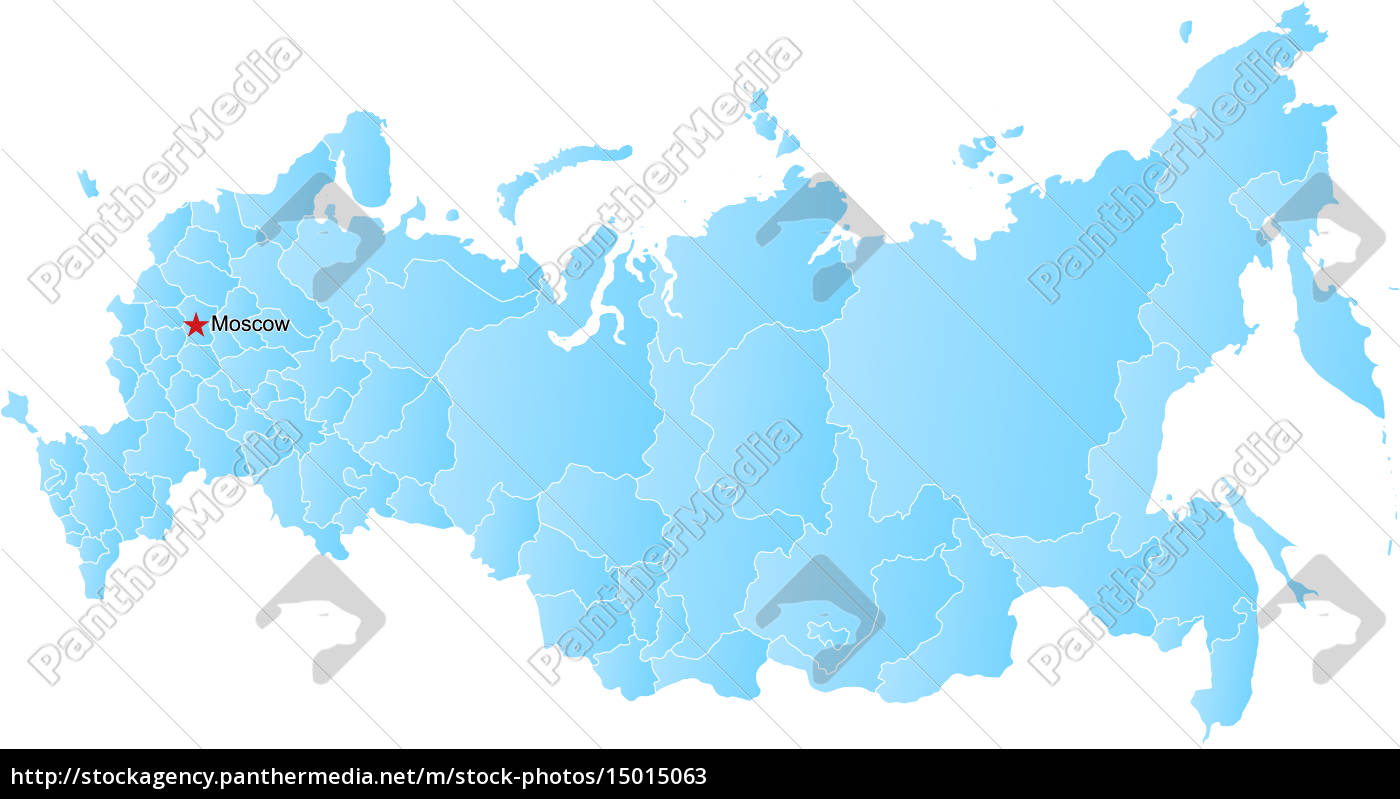 Nyt Kort Over Den Russiske Foderation Og Krim Stockphoto