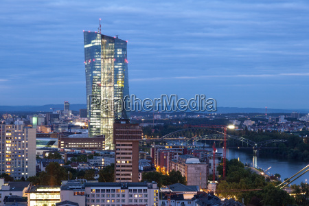 european central bank in frankfurt germany