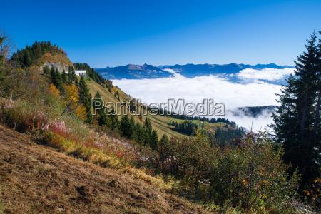 ross field panorama road i berchtesgaden