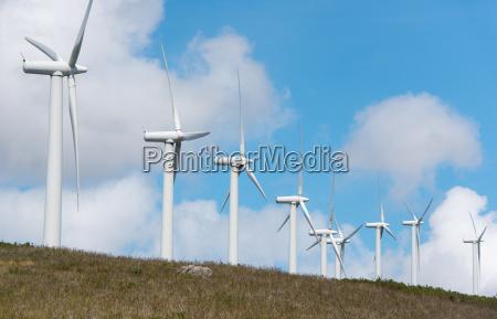 vindmoller pa land til elproduktion i
