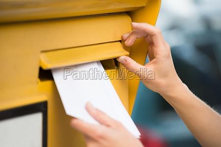 postkasse kort brev kasse aeske mail