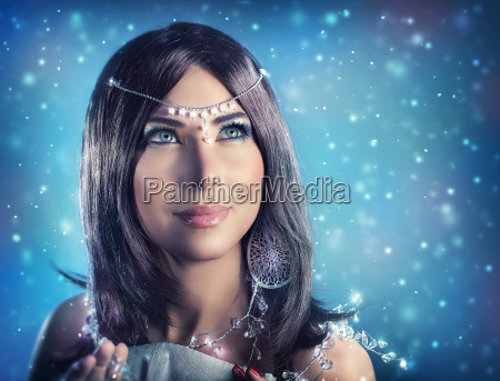 sne dronning portraet