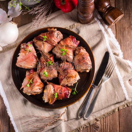 mad maltid frokost filet middag svinekod