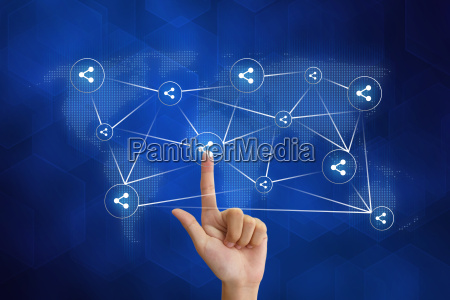 hand skubber andel sociale netvaerk