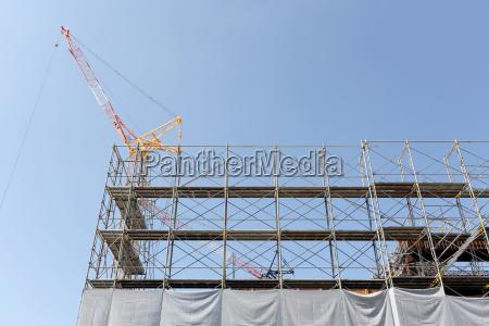 nyt byggeri byggepladser hegn