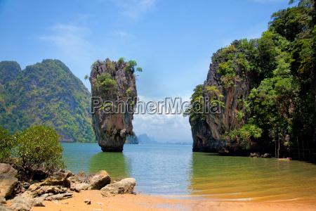 james bond island thailand james bond