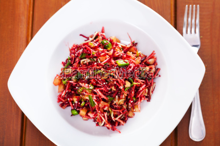 salad, with, beetroot, and, celery, salad, with - 15801571
