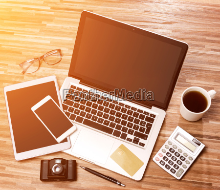 trae forretningsmand skrivebord i high definition