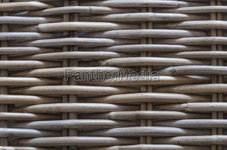 detalje kurv naturprodukt flettet baggrund willow