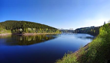 resin dam fresh water lake inland