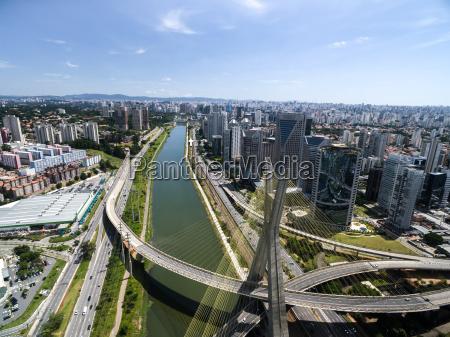 brasilien sydamerika luftfoto skelsaettende brazilian