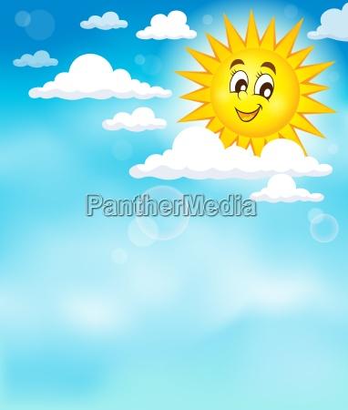 solen pa sky tema billede 3