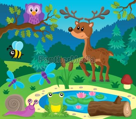 forest dyr emne billede 9