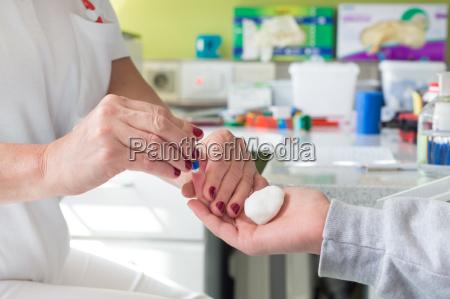 blodtype testning ved priktest