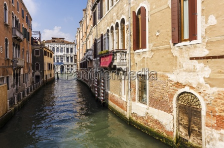 italy veneto venice cannaregio district row