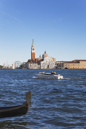 italy veneto venice view to church